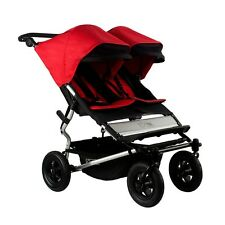 Mountain Buggy 2015 Evolution Duet Double Stroller - Chilli  New! Free Shipping!