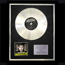 ADAM LAMBERT TRESPASSING CD PLATINUM DISC FREE P+P!!