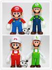 Super Mario Bros Lot 4Pcs Mario And Luigi Figure Toy