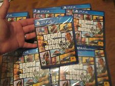 Grand Theft Auto V PS4 Sony Grand Theft Auto 5 FIVE NEW FACTORY SEALED (1 GAME)