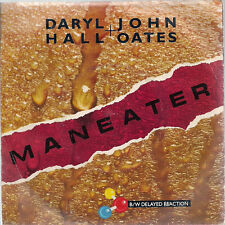 "Daryl Hall & John Oates Maneater UK 45 7"" single +Picture Sleeve"