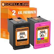 2 für HP 300 XL Deskjet D2560 F2400 F2420 F2480 F2492 F4210 F4280 F4500 F4580