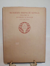 Rare 1904 Modern French Songs Book Geoges to Widor # 2