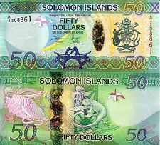 SOLOMON ISLANDS 50 Dollars Banknote World Paper Money UNC Currency Pick p-35