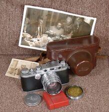 Fine Leica IIIa (Lutz,Farrando & Cie) c.1936-37 w/Xenon 5cm 1:1.5. RARE!