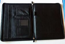 HANDMADE ZIP CLOSER A4 FOLIO/ TRAVEL ORGANISER/ COMPENDIUM/ IPAD/LAPTOP HOLDER