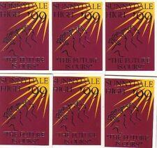 BUFFY STAGIONE 3 serie completa di sei schede ANNUARIO