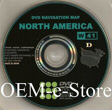 Genuine 2004 2005 Toyota Prius Hybrid Generation 4 Navigation DVD Map U.S Canada