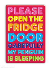 Brainbox Candy Penguin fridge magnet funny joke cheap gift birthday present