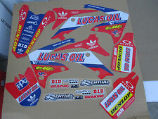 TEAM HONDA LUCAS OIL PTS GRAPHICS CRF450 CRF450R  2009   2010  2011  2012