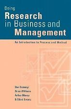 Doing Research in Business and Management: An Introduction to Process -ExLibrary