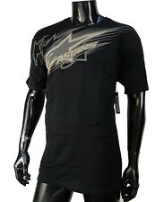 Alpinestars Racing Motocross Swift Black Atletic mens T shirt size Large