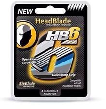New HeadBlade HB6 Six Blade Refill Blades Replacement Sport Ghost Classic ATX S4