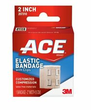 2 Pack - ACE Elastic Bandage with Clips, 2 Inches, 1 Each