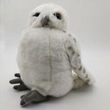 Wizarding World Of Harry Potter Snowy Owl Hedwig Puppet Rotating Head  NEW