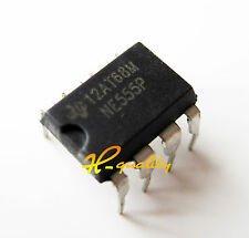 50PCS NE555P NE555 DIP-8 SINGLE BIPOLAR TIMERS IC factory price