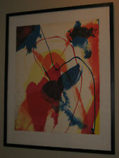 Paul Jenkins - Pencil Signed and Dated -  Artist Proof III Lithograph 1971