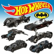 NEW Hot Wheels Batman 2015 COMPLETE 6 Car SET Limited ed Batmobile Batpod BAT FS