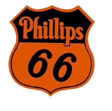 PHILLIPS 66 GASOLINE ORANGE VINYL STICKER (A881) 12 INCH