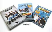 Impractical Jokers the complete 1, 2, 3 seasons 9 DVD discs set, BRAND NEW!