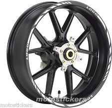 TRIUMPH Daytona 1200 - Adesivi Cerchi – Kit ruote modello racing con logo