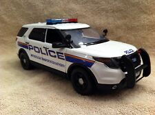 1/18 SCALE NEW YORK MTA POLICE FORD SUV UT DIECAST WITH WORKING LIGHTS AND SIREN
