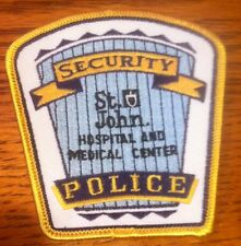 St. John Hospital & Medical Center Security & Police Patch Detroit Michigan