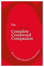 The Chambers Complete Crossword Companion: Book, (Ed.), Chambers, Good, Hardcove