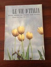 R20  LE VIE D'ITALIA - N.2 FEBBRAIO 1951 - IL MENSILE DEL TOURING CLUB ITALIANO