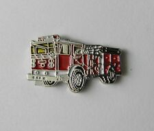 UNITED STATES FIRE ENGINE FIREFIGHTER FIREMAN TRUCK LAPEL PIN BADGE 3/4 INCH