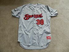 2016 Brevard County Manatees Game Used Away Jersey #38 Angel Ventura Brewers