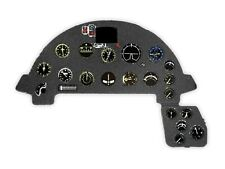 F4U-1A CORSAIR PHOTOETCHED, 3D, COLORED INSTRUMENT PANEL #3216 1/32 YAHU