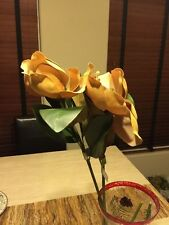 Set Of 2 Garden Blooms Silk Flowers NWT
