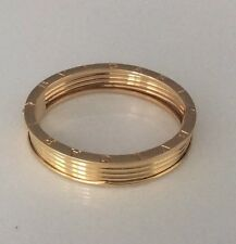 Auth.BVLGARI B.ZERO Bangle Bracelet XL 84.5 Grams Yellow Gold 18k