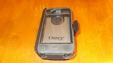 OtterBox Defender iPhone 4 4S Hard Rugged Case w/Holster Belt Clip (Black) USED