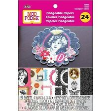 "Mod Podge Podgeable Papers Classic 24 Sheets 4 5/8"" x 6 7/8"" 12932"