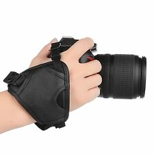 Pangshi Leather Hand Grip Strap For Nikon D5000 D5100 D90 Useful Accessories