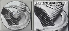 RAGE AGAINST THE MACHINE People Of The Sun 1996 UK 1-track promo CD XPCD2070