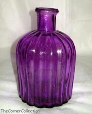 DAYSPRING BLESSED GORGEOUS PURPLE GLASS VASE