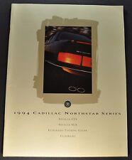 1994 Cadillac Seville STS SLS Eldorado 40pg Brochure Excellent Original Canadian