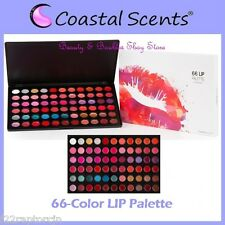 NEW Coastal Scents 66-Color LIP Palette FREE SHIPPING Gloss Stick Factory Sealed