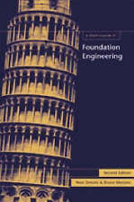Short Course in Foundation Engineering by Noel Simons, Bruce Menzies (Hardback,…