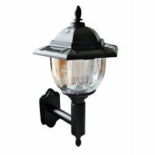 New 2 x Solar Powered Victorian Style Wall Light Bright White LED Wellcome Light