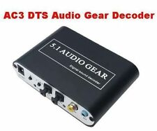 Optical Coaxial Digital Audio to 5.1CH Analog DTS AC3 Decoder for XBOX360 PS3