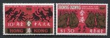 HONG KONG 1968 Jahr des Affen Lunar Year of the Monkey 230-231 ** MNH