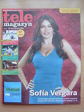SOFIA VERGARA on front cover TELE MAGAZYN 3/2015