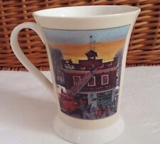 Christmas at the Firehouse Pimpernel - Portmeirion Coffee Mug, Tea Cup Nice!