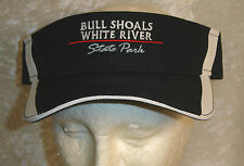 Bull Shoals Visor Hat White Water River Rafting AR State Park Embroidery New