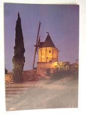 CPM Le Moulin d'Alphonse Daudet à Fontvieille vu la nuit ...