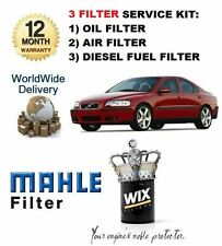 FOR VOLVO S60 2.4D DIESEL 2001-  SERVICE SET OIL AIR FUEL ( DIESEL )  FILTER KIT